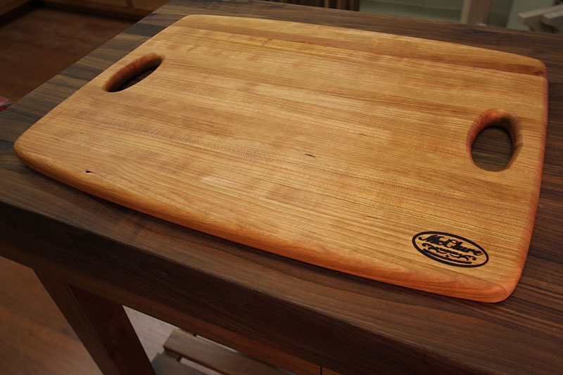 Mcclure Tables Chef S Chopping Block Cherry Round The